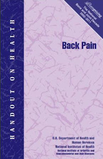 Handout on Health: Back Pain