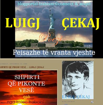 Luigj Çekaj, poeti i shquar i diasporës
