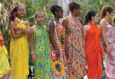 frica e sua cultura trajes africanos