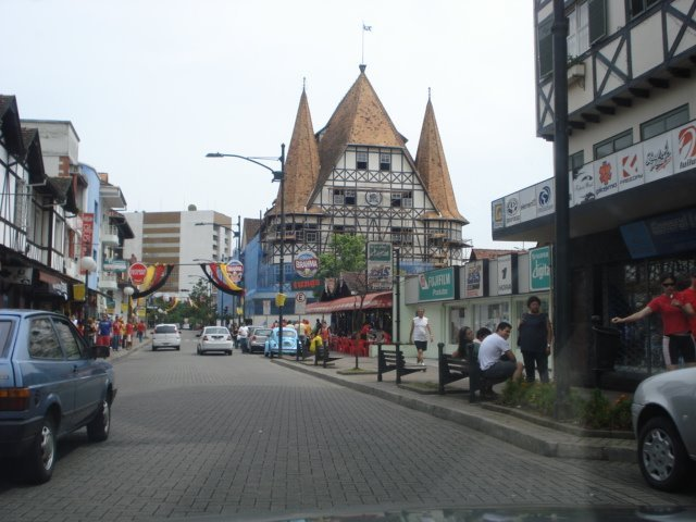 Blumenau Rua XV Novembro