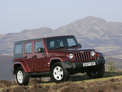 2008 Jeep Wrangler Unlimited UK Version pictures PICTURES