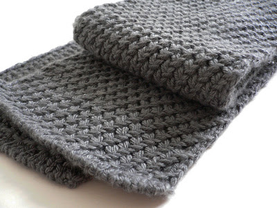 Free Cotton Knitting Patterns : Free Knitting Pattern: Extra Warm Men s Scarf (Women can definitely wear it!)...