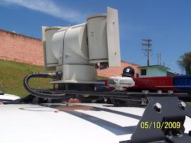 Sistema de Câmera com canhão de infravermelho