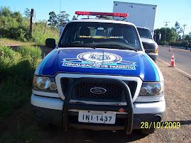 Vtr da GM de trânsito de Cachoeirinha - RS