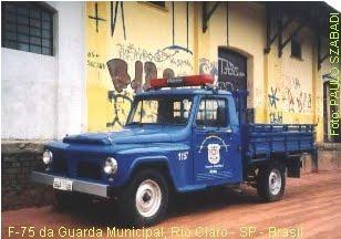 Vtr antiga da GM de Rio Claro - SP