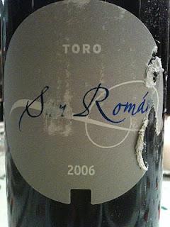 san-román-2006-toro-tinto
