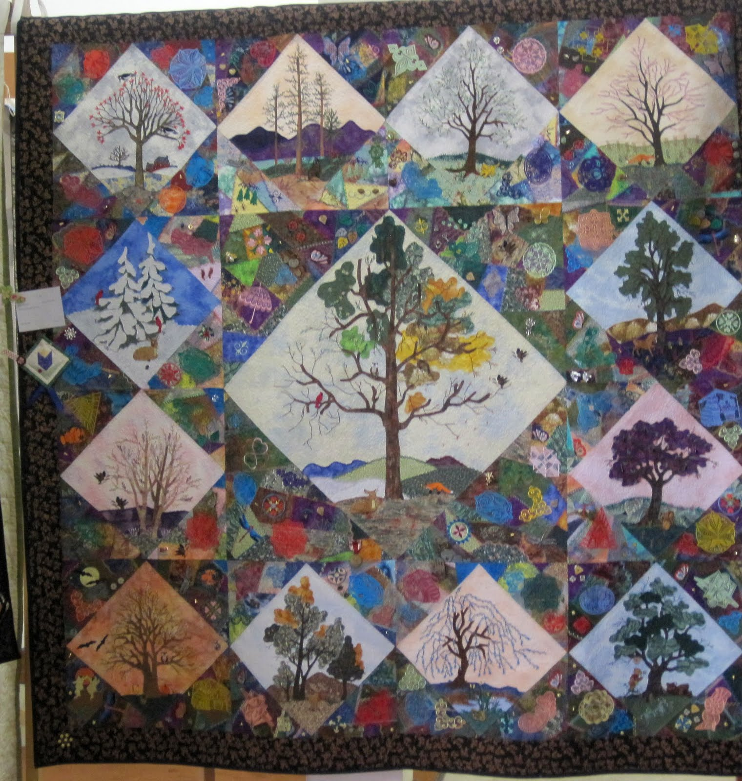 Amazing Quilts: Pieceful Afternoon: Quilt Show