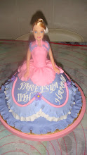 Fondant Barbie Doll Cake