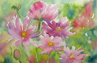 flowers art washes - photo #43