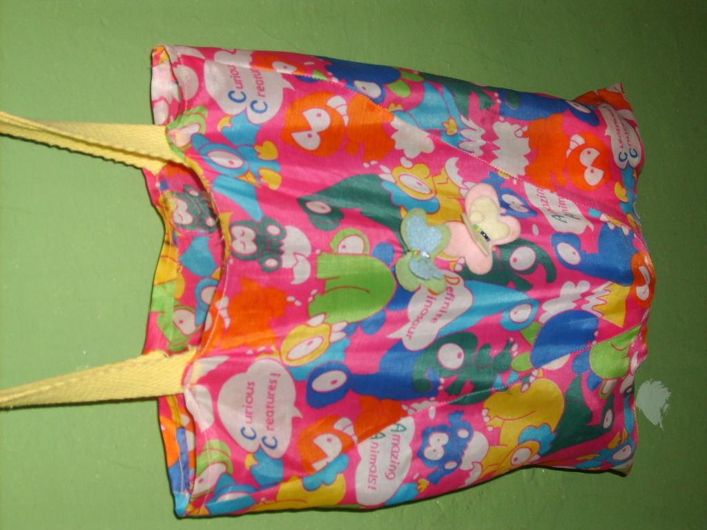 Bolsa Feita Com Tecido De Sombrinha : Clube da sombrinha e afins bolsa infantil