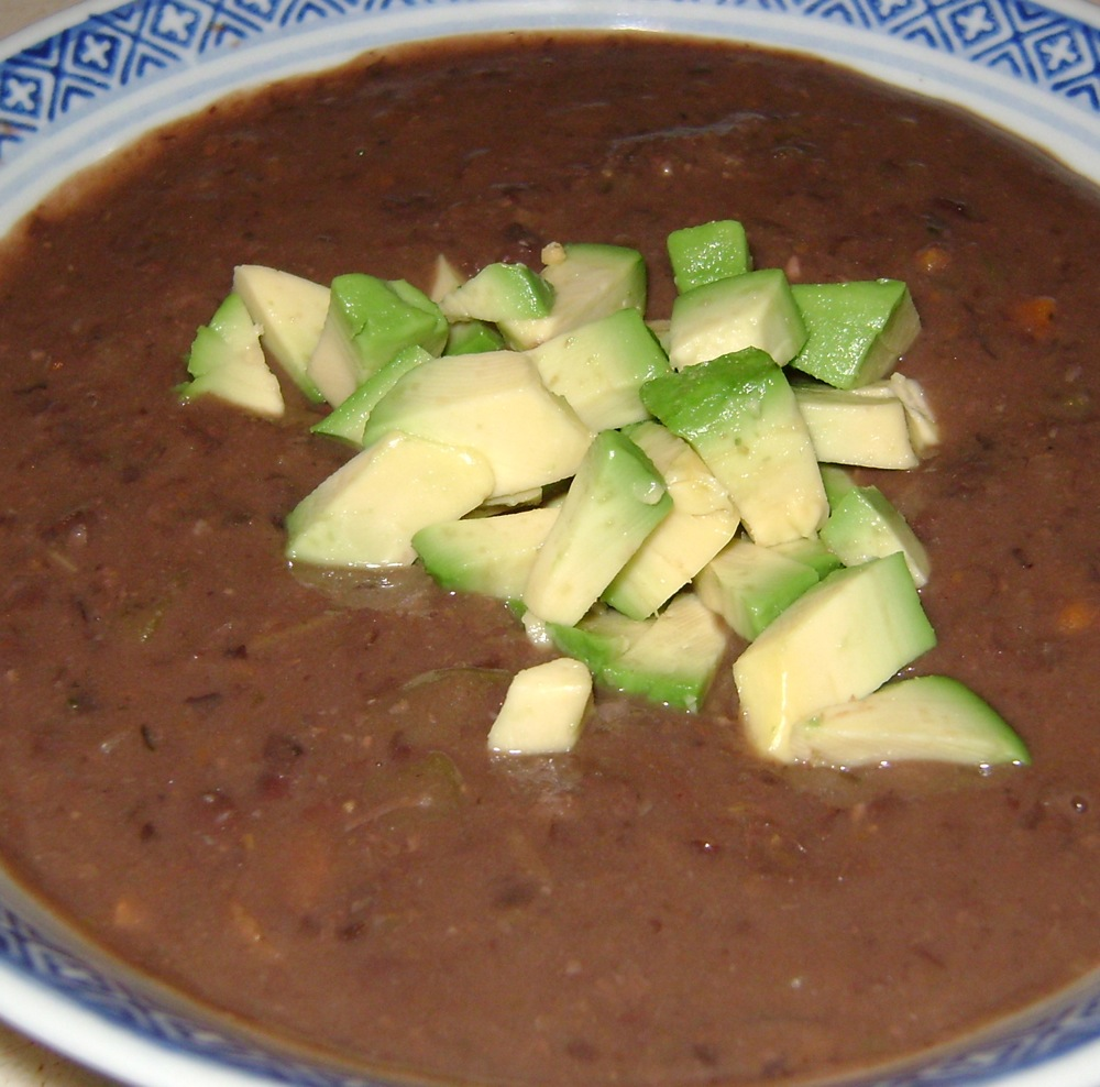 Scrap. Eat. Book.: Black Bean-Vegetable Soup