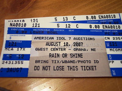American Idol audition tickets
