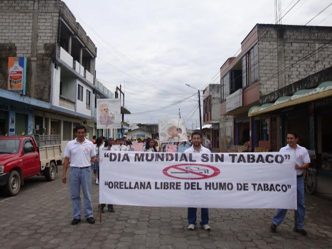 """Marcha - """"Día Mundial del Tabaquismo"""" 2009"""