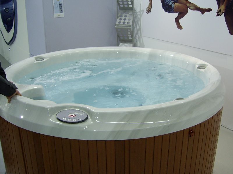 Hot Tubs In Canada Taking It Easy In A Two Person Hot Tub
