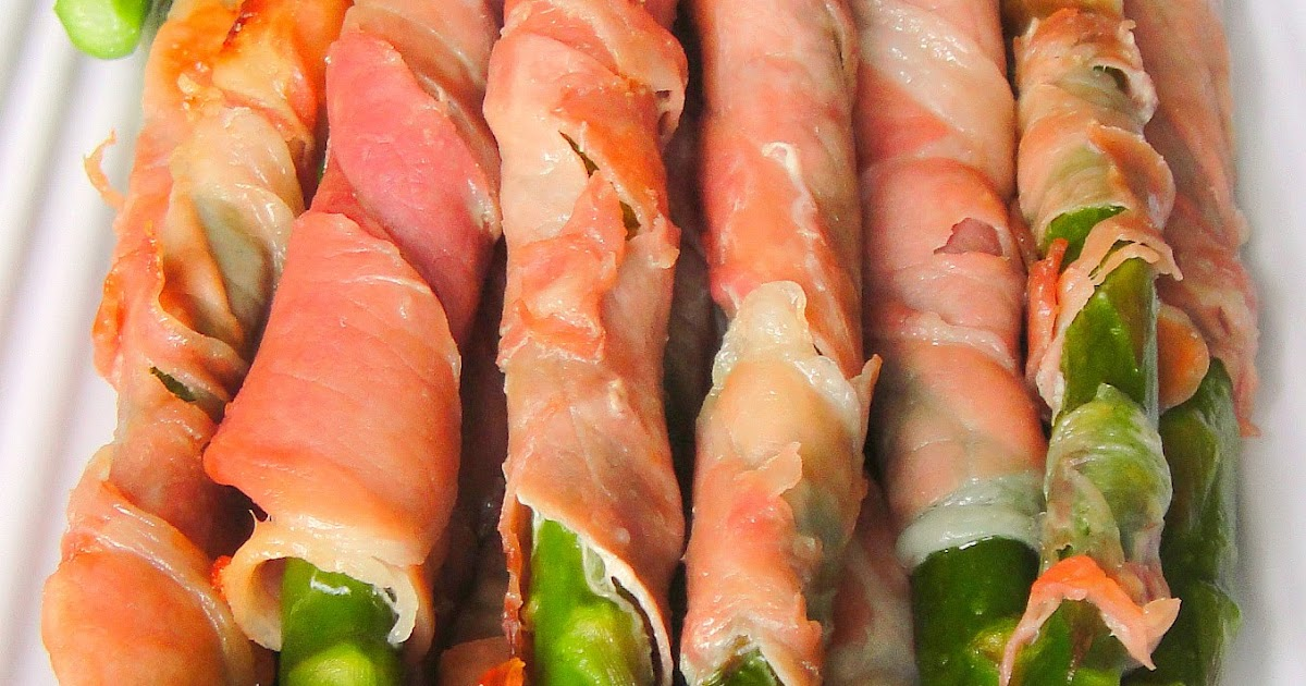 Healthy and Gourmet: Simple Prosciutto Wrapped Asparagus