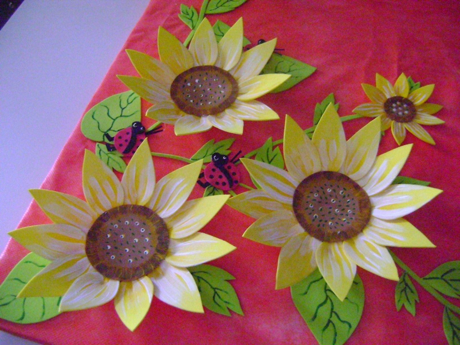 Mural   Flores Girol Em Eva