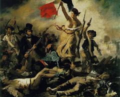A Liberdade guiando o povo (Delacroix, 1830)