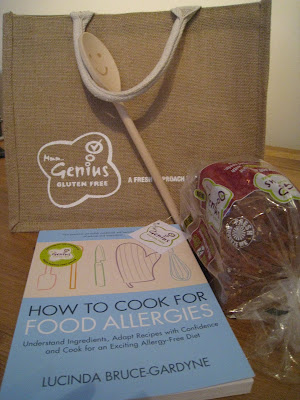 adventures of a gluten free globetrekker A Very Genius Goody Bag! Gluten Free News