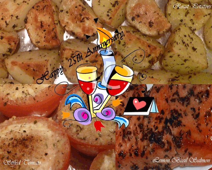 fabulous fridays: Ricotta Baked Tomatoes with Roast Potatoes and Lemon ...