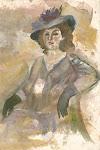 מאוסף ציוריה של לורה הרמן