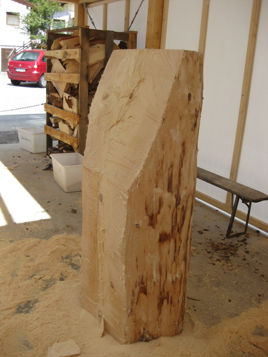 Erb s woodcarving chainsaw carving day ii