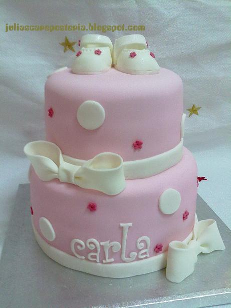 Imagenes tortas bautismo niña - Imagui