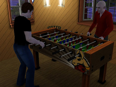 Me and Remmeister playing some fooseball...