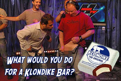 I think you went too far with the whole Klondike Bar thing!