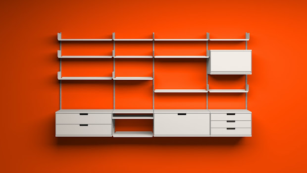 Wall Mounted Garage Storage Shelves