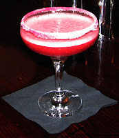 Plum-flavoured daiquiri at Alice