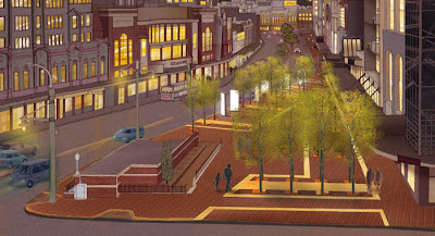 Courtenay Place Park - final rendering
