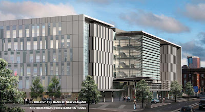 Render of new BNZ building from the north