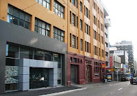 Site of new Asian market in Willis St