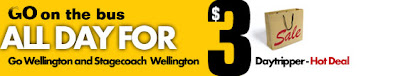 $3 Daytripper bus fares