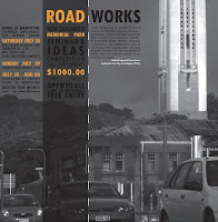Excerpt from Road Works design competition flyer