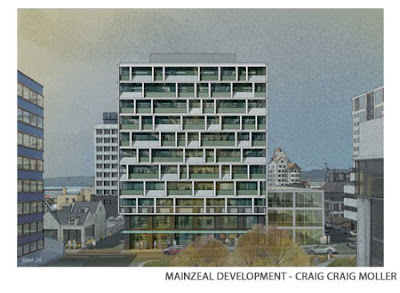 Rendering of Mainzeal development
