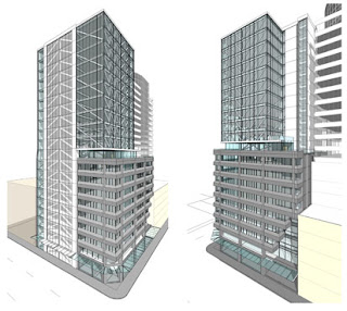 Featherston Tower - old render?