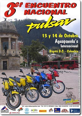 3'rd National Pulsar Meet, Colombia Poster