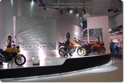 Honda Concept CBF Bikes on Display