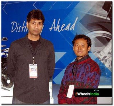 Payeng with Mr. Rajiv Bajaj