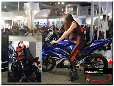 Yamaha @ Auto Expo 2008