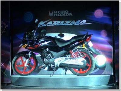 New Hero Honda Karizma