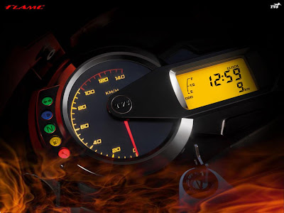 Digital Speedometers of the 125 CC TVS Flame