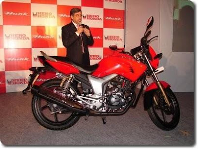 New 150 Cc Hunk From Hero Honda First Pics Bike
