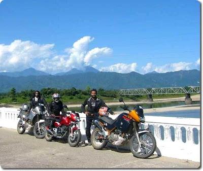 The 3 bikers of Bharat Parikrama