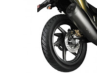 Honda CB Unicorn Dazzler Wide Rear Tyre