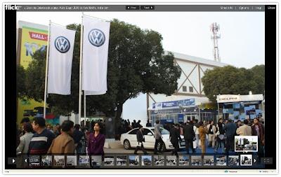 AutoExpo 2010 Outdoors