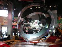 Revolving Karizma ZMR @ Auto Expo 2010