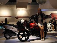 TVS Jive @ AutoExpo 2010
