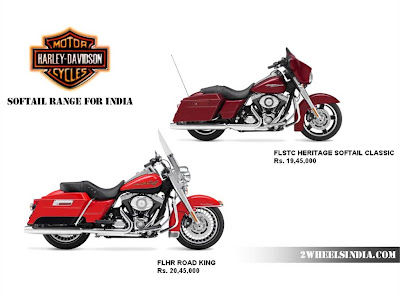 Harley Davidson India Softail Range